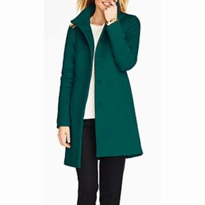 Talbots Gramercy Wool Green Coat with Thinsulate
